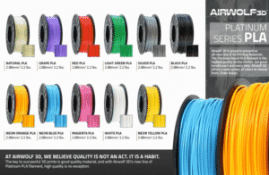 Airwolf PLA Colors 2