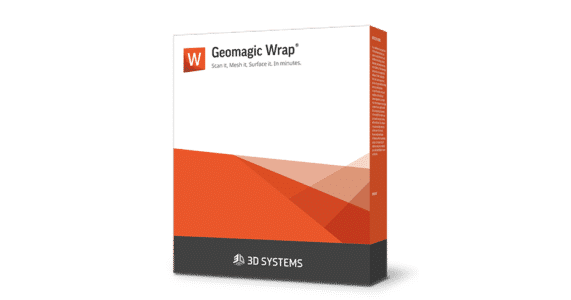 Geomagic Wrap Software Bundle in Orange Packaging